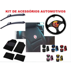 Super Kit Capa Banco Carro Couro Automotivo Palio 2007