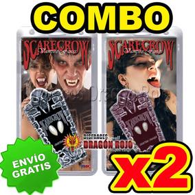 Combo: Colmillos Scarecrow 2 Pares Envío Gratis - Vampiro