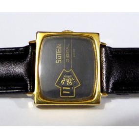 Sutton Digital, Jump Hours.reloj De Pulsera Para Mujer.suizo