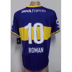Camiseta Original De Boca Juniors Titular 2013 Roman 10