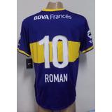 Camiseta Original De Boca Juniors Titular 2013 Roman 10 Xxl