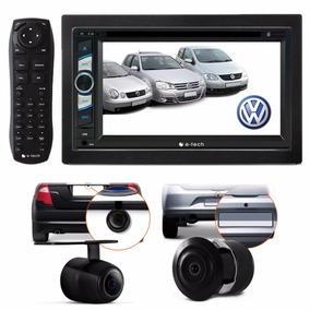 Kit Central Multimidia Dvd Golf Polo Fox + Moldura + Brinde