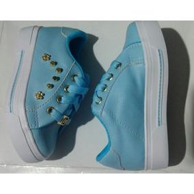 ... Color Azul Calzado Infantil Colombia. Bogotá D.C. · Zapatos Tenis Moda  Niña Azul Cielo Azul Claro Moda Infnatil fbf1e7620ec4