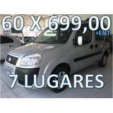 Fiat Doblo 1.8 Flex 7 Lugares Entrada + 60 X R$ 699,00 Fixas