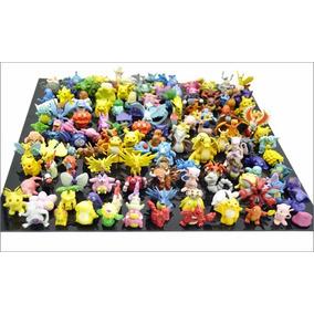 Kit Jogo Com 24 Miniaturas Pokémon Bonecos P/ Colecionadores