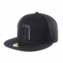 Gorra New Era 59fifty México Wbc 17 Black