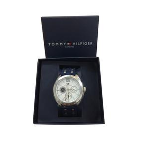 Relógio Tommy Hilfinger Feminino Pulseira Silicone Com Inox