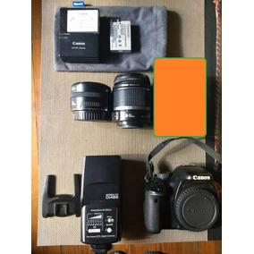 Canon T2i 550d Kissx4 + 28mm 2.8+18-55+flash Nissin