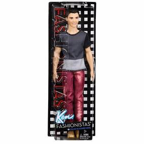 Brinquedo Boneco Barbie Ken Fashionistas Unitário