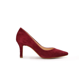 Trender Stiletto Color Vino Gamuza