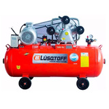 Compresor De Aire 7.5 Hp 500 Lt Tricilindrico 380v Lusqtoff
