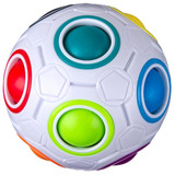 Esfera Rubik Rainbow Ball Yongjun Bola Esfera Anti Estrés !