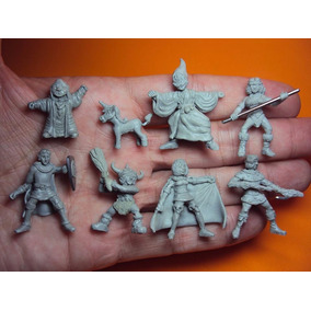 Miniaturas Caverna Do Dragão P/ Zombicide + Fichas + Sleeves