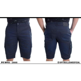 Bermuda Masculino Pit Bull Jeans Original