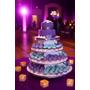 Torta+macarrones+cupcake+cakepop 15años Bodas Shabby Chic