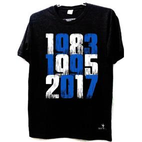 Camiseta Grêmio Tricampeão Libertadores 1985 1995 2017