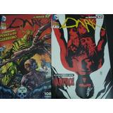 Dark Os Novos 52 Edição 7 E 8 Ano 2013 Dc Comics Panini