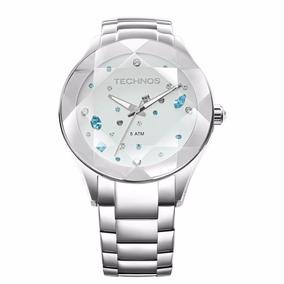 Relógio Technos Feminino Elegance Crystal Swarovsk 2039av/1k