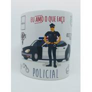 Caneca Personalizada Profissão Policial