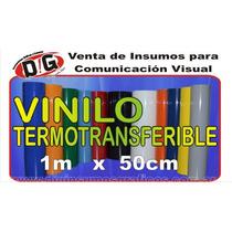 Vinilo Termotransferible Por Metro! Fraccionado Mejor Precio
