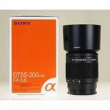 Lente Sony 55/200 F4-5.6 Sony Alpha (n50)