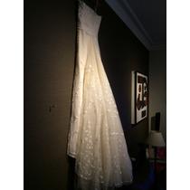 Vestido De Novia Original Jorge Ibanez!!! Impecable