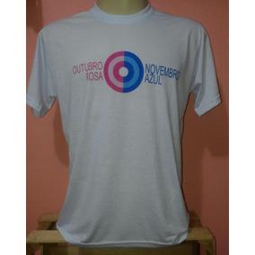 Camiseta Novembro Azul Pacote 10un