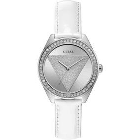 Reloj Guess W0884l2 Mujer Cuero 30m Día De La Madre