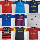 Kit Com 7 Camisetas De Time Camisas De Futebol Raynstore®