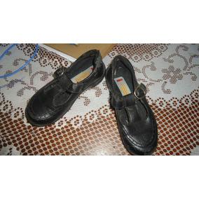 Zapatos Colegiales (sifrinitas) Talla 27