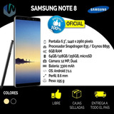 Samsung Note 8 64gb, Nueva, Libre Origen
