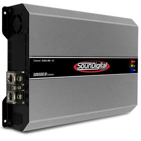 Modulo Soundigital Sd 6500 Linha Branca 6500w Rms Promoção!!