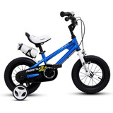 Bicicleta Niño Aro 12 Royal Baby Azul
