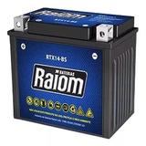 Bateria Selada Rtx14-bs Atv Tr300 - Trx350 Fourtrax - Raiom