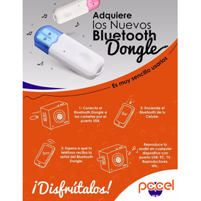 Usb Dispositivo Bluetooth Dongle Para Radios, Pc Y Carros