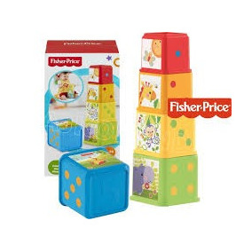Bloques Apila Y Explora Fisher Price, Nuevo