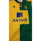 Camiseta Del Norwich De Inglaterra