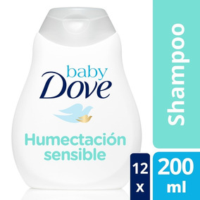 Baby Dove Humectación Sensible Shampoo 12 Pzas De 200ml