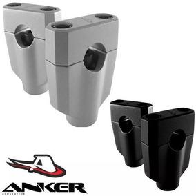 Alongador Adaptador Guidao 22mm Moto Importadas Anker