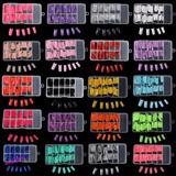 Tip De Color Paquete De 100 Piezas, Uñas, Decoracion, Fiesta