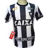 Camisa Botafogo Listrada Preto Branco 2018 Fogão