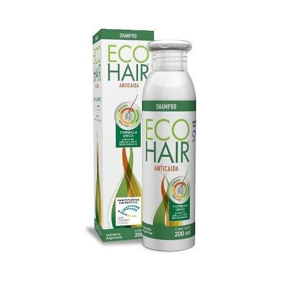 Eco Hair Shampoo X 200 Ml Anti-caida Del Cabello .full