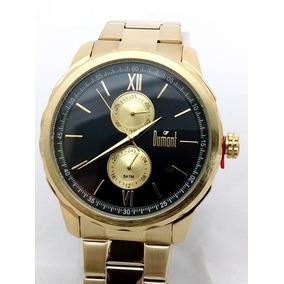 Relogio Dourado Masculino Falso Dumont - Relógios De Pulso no ... 8724e2169c
