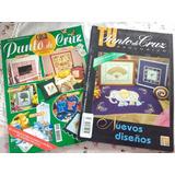 Paquete 6 Revistas De Punto De Cruz