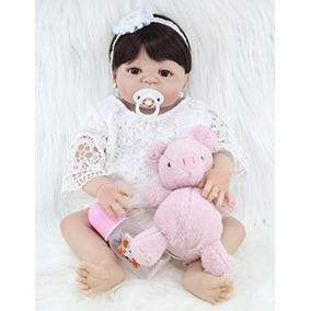 Npk Colección Annedoll Full Body Silicone 22 Reborn Baby . 7142c3df160