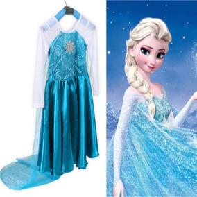 Vestido Frozen Elsa Moda Asiática
