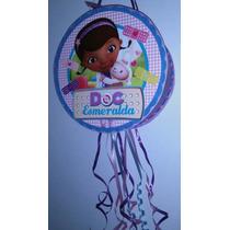 Piñata Infantil Personalizada Cumpleaños Doctora Juguetes