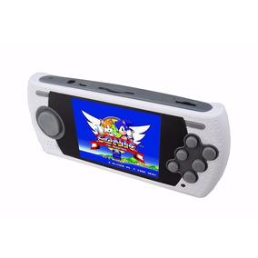 Console Sega Mega Drive Portátil Retro Original + 1000 Jogos