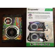 Radio Ecopower Ep-2190 - Usb - Sd - Bluetooh - Preto