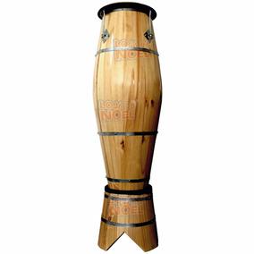 Atabaque Rum 110 Cm C/ Suporte Redondo Afinação Tarraxa